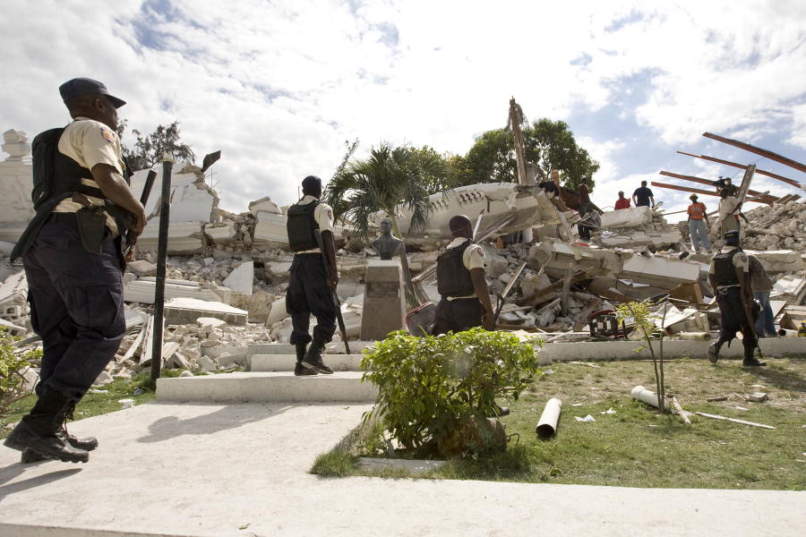 Haitian Justice Palace Wrecked by Quake